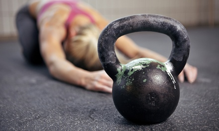 10 or 20 Kettlebell Classes at Revolution Fitness (Up to 79% Off)