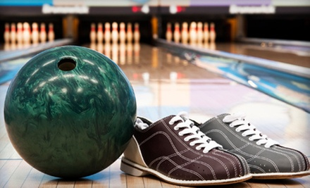 Bowling with Shoe Rental, Nachos, and Soda for Two or Four at Alley Gatorz (Up to 60% Off)
