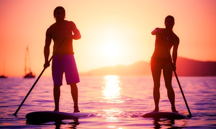 Standup-Paddleboard Rental, or LED Night Paddle Tour for One, Two, or Four from IpaddleMiami (Up to 53% Off)