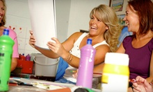 $19 for Two-Hour Adult Painting Class with Drinks at Mind Unwind ($40 Value)