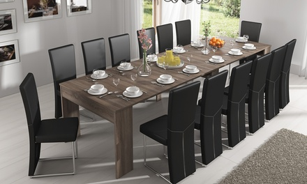 Mesa extensível até 3 metros disponível em duas cores por 289 €