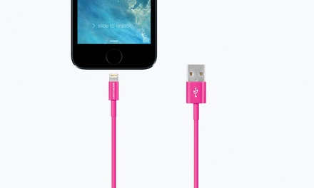 Merkury Innovations 6ft. Apple Lightning Charge-and-Sync Cable