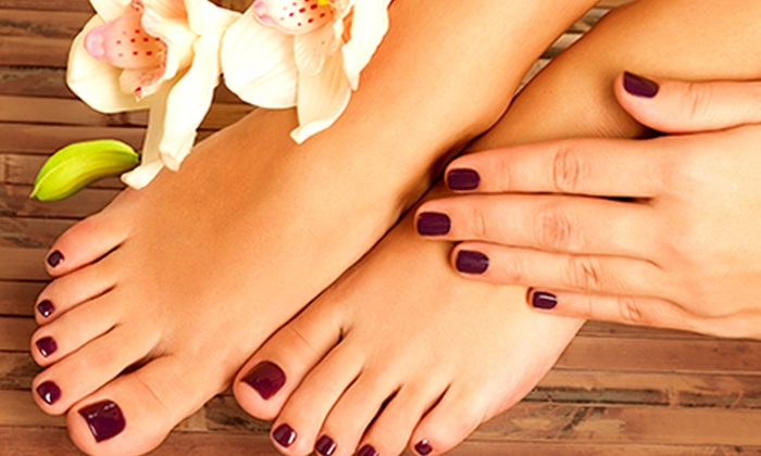 All Your Life - The Cheltenham Spa: Luxury Manicure, Pedicure (£8) or Both (£15) at All Your Life (Up to 62% Off)