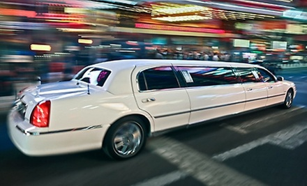 $299 for a Five-Hour Shopping Excursion in a Limousine for Up to Eight People from First Class Sedan ($600 Value)