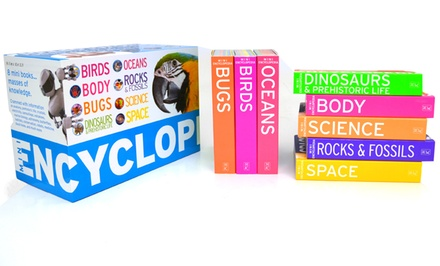 Kids' 8-Book Mini Encyclopedia Set