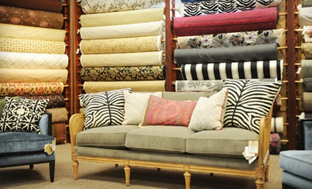 Fine Home Fabrics and Accessories at art fabrics &amp; home (Up to 52% Off). Two Options Available.