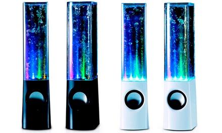 Altavoz com água disponível em duas cores por 19,90€