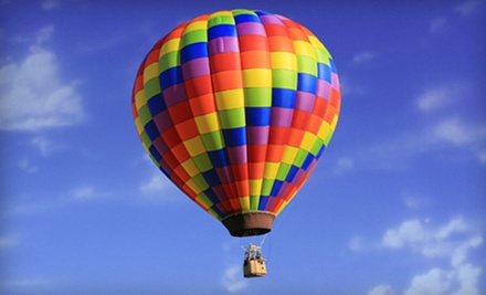 One-Hour Hot Air Balloon Ride and Champagne Toast for One or Two from Morning Star Balloons (Up to 47% Off)