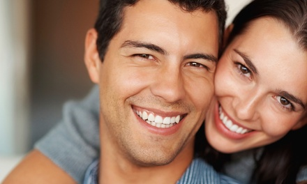 Cleaning, Exam, and X-rays with Optional Take-Home Whitening Kit at Thompson Creek Dental (Up to 84% Off)