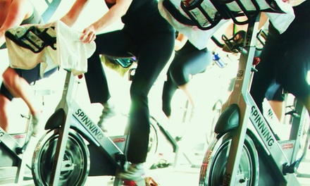5 or 10 Spinning Classes at Blazing Saddles Indoor Cycling (Up to 60% Off)