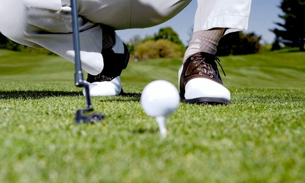 Round of Golf with Cart for Two or Four at Windmill Hill Golf Course (Up to 46% Off). Four Options Available.