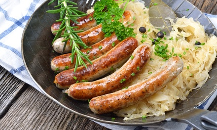 $12 for $20 Worth of All-Natural, Low-Fat, MSG- and Nitrate-Free Brats and Sausages