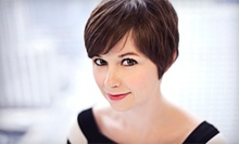 Haircut and Brow Shaping with All-Over Color or Partial Highlights at Mona Lisa Salon & Spa (Up to 64% Off)