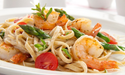 $12 for $20 Worth of Italian Cuisine for Two or More at Bella Pasta