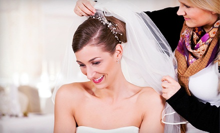 Bridal or Occasion Updo, or Salon Package for a Bride and Up to Four Bridesmaids at Dona&#x27;s Hair Salon (Up to 60% Off)