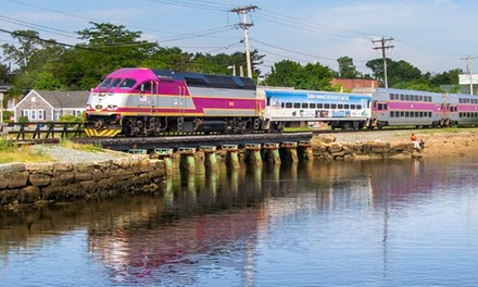 Round-Trip Train Ticket from CapeFLYER (Up to 38% Off)