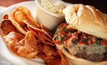 $12 for $25 Worth of Gourmet Burgers, Boneless Wings, and Sandwiches at Boston Burger Company