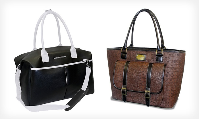 Up To 86 Off Adrienne Vittadini Travel Bags Groupon