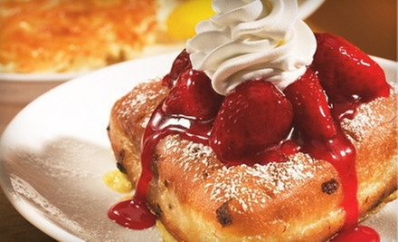 $10 for Two $10 Breakfast, Lunch, or Dinner Vouchers at IHOP
