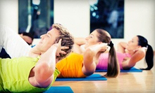 5 or 10 Group Zumba, Pilates, Boot-Camp, Cardio-Kickboxing, or Yoga Classes at wellBeing (Up to 62% Off)