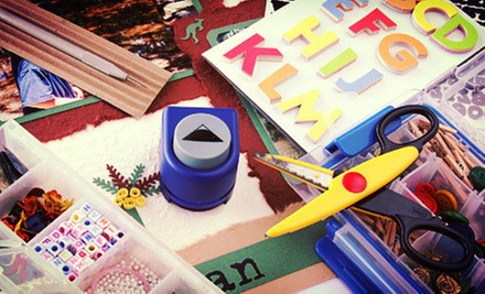 $25 for $50 Worth of Arts and Crafts Supplies at Multicrafts & Gifts