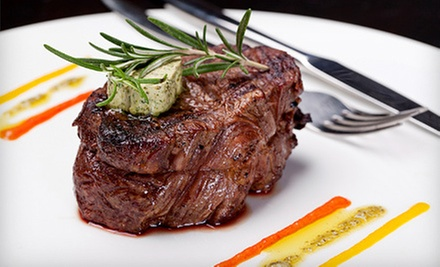 Three-Course New American Dinner for Two or Four-Course Dinner for Four at Vintage Lounge (Up to 49% Off)
