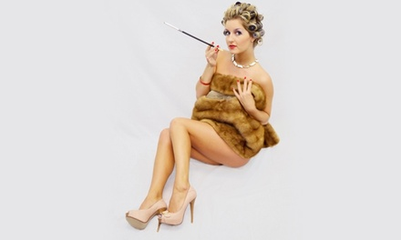 $99 for a Photo-Shoot Package with Costumes and Prints at Carolina Pin-Up ($220 Value)