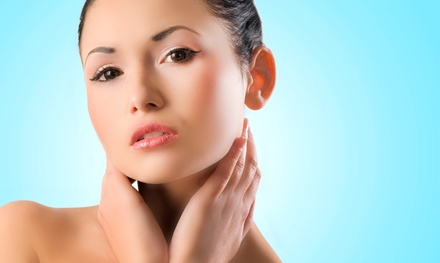 One, Two, or Three Nonsurgical Microcurrent Face-Lifts at New Body Contours (Up to 74%Off)