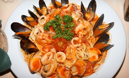Italian-Inspired Cuisine and Drinks at American Bistro (Up to 52% Off). Two Options Available.