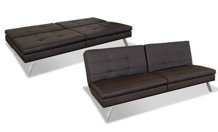 Serta Charleston or Hampton 4-Position Convertible Lounger Sofa from $289.99–$299.99