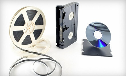 Media Transfers to DVD from Glory Years (Up to 67% Off). Three Options Available.