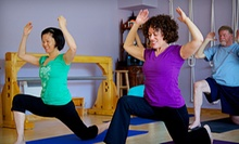 10 or 20 Yoga Classes at Yoga Upstairs (Up to 89% Off)