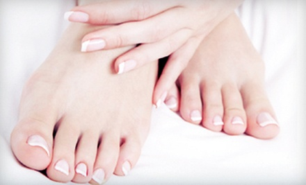 Nail Services at Serenity Mind Body Spa (Up to 56% Off). Four Options Available.