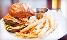 $25 for Burgers and Beer for Two at Sign of the Whale (Up to $59.98 Value)