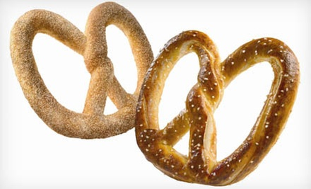 $6 for Four Soft Pretzels at Auntie Anne's ($12.76 Value)