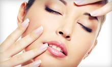 Facial and Massage with Optional Manicure and Organic Pedicure at Voir Salon &amp; Spa (Up to 66% Off)