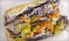 Italian Beef, Hot Dogs, or Catering Trays from Spalla's Chicago Italian Beef (Half Off)