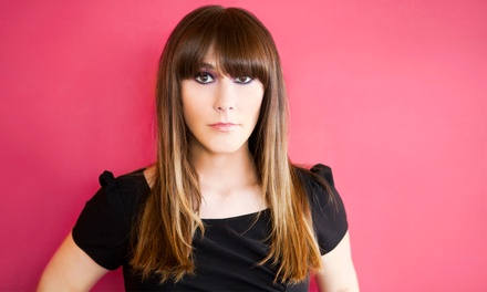 Haircut with a Deep-Conditioning Treatment or Highlights and Lowlights from Ashley Sampson (Up to 50% Off)