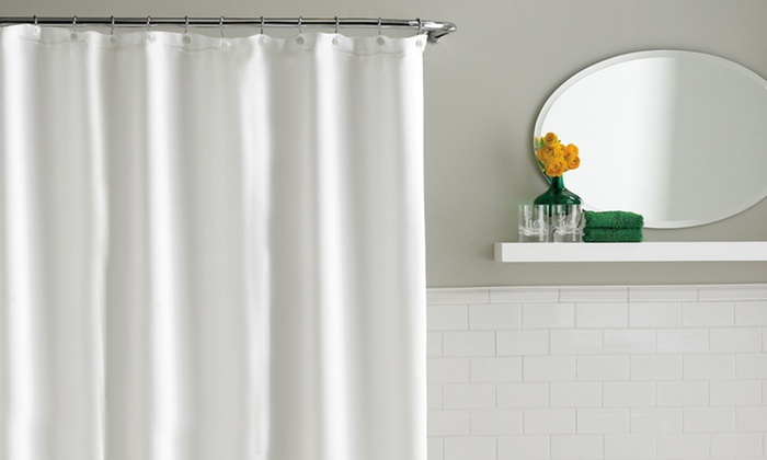 Shower curtain grommets