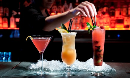 $5 for an Online Bartending Training Course with Certification from Bartender & Barista ($199 Value)