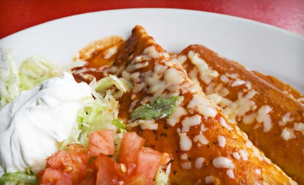 $8 for $16 Worth of Mexican Cuisine at Hacienda Mexican Grill & Cantina