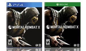 Mortal Kombat X For Ps4 And Xbox One