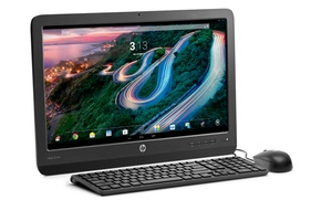 "Hp Slate21 Pro All-in-one Android Pc With 21"" Full Hd Touchscreen Display And Nvidia Quad-core Processor"