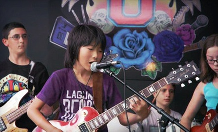 $25 for Two Private 30-Minute Music Lessons at Rock-N-Roll University ($60 Value) 