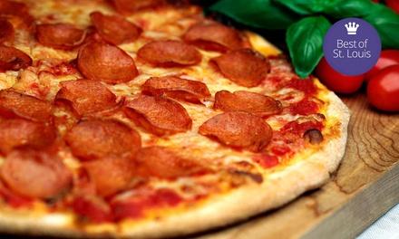 Pizzeria Cuisine at Fortel's Pizza Den (45% Off)