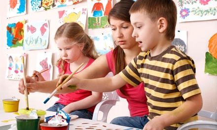 Mother's Day Paint Party for Two at SnickerDoodle Kids Art (46% Off). Five Options Available.