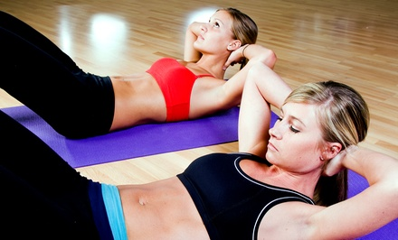 One Month of Small-Group Personal Training for One or Two at Consistently Persistent Fitness (Up to 80% Off)