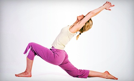 10 or 20 Classes or One Month of Unlimited Classes at Ananda Yoga & Wellness (Up to 71% Off)