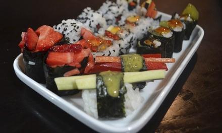 Cru Sushi Bar — Baixa: menu de sushi para 2 ou 4 pessoas com bebidas e cafés desde 19,90€