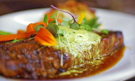 $42 for a Three-Course Upscale Bistro Meal for Two at Americano (Up to $92 Value)